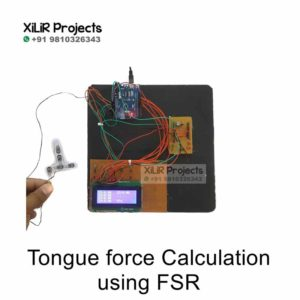 Tongue Force Calculation using FSR