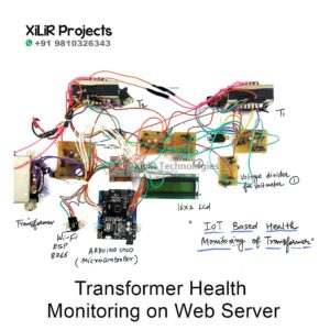 Transformer Health Monitoring on Web Server
