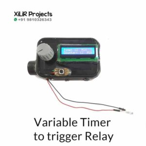 Variable Timer to trigger Relay Engineering Project