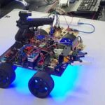 Wireless-Robotic-Tank-using-RF-Communication-for-Mobile-Detection
