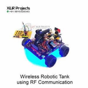 Wireless Robotic Tank using RF Communication for B.Tech