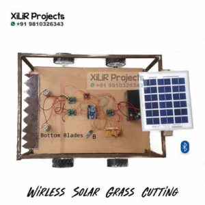Advanced Wireless Solar Grass Cutter Engineering Project