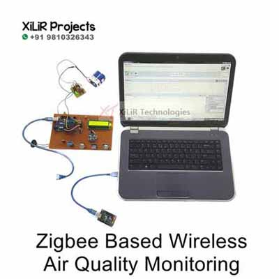 Zigbee Based Wireless Air Quality Monitoring Project