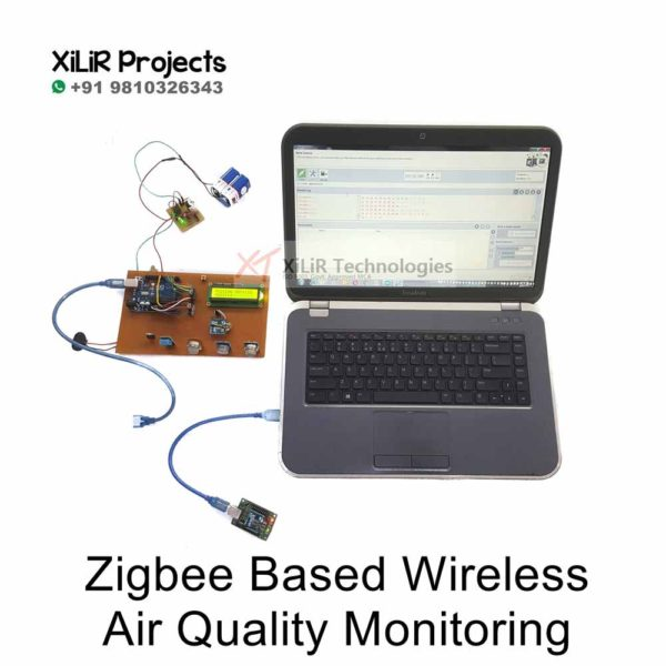 Smart Zigbee Based Wireless Air Quality Monitoring Project
