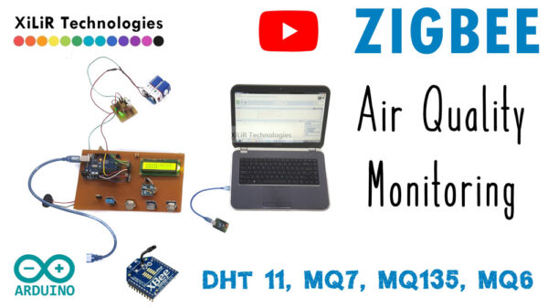 zigbee based air quality measurement system