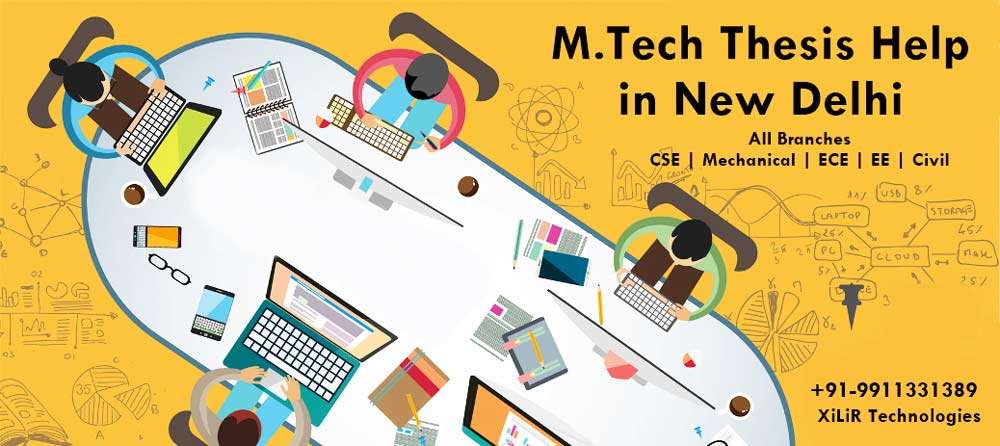 M.Tech thesis help India
