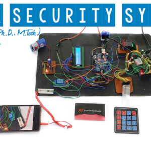 Bank Security System with Finger print, Camera, GSM, Keypad, IOT Arduino