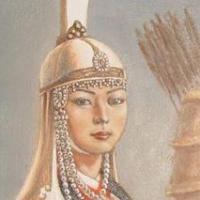 genghis khan wife