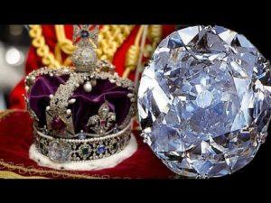 british Crown with kohinoor Diamond