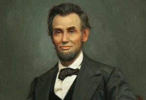 16th President of America Abrahim Lincoln: