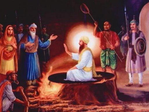 Jahangir, 1st Mughal Emperor to Start Torturing Sikh Gurus to Death; Martyrdom of Guru Arjan Dev