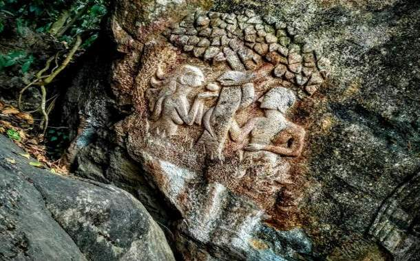 Carvings in Edakkal Caves Kerala: Proof of Prehistoric Civilization from 6,000 BCE