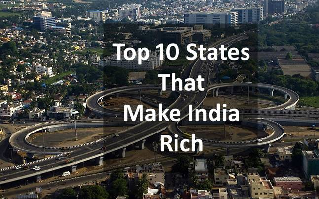 List of Top 10 Richest State In India 2019