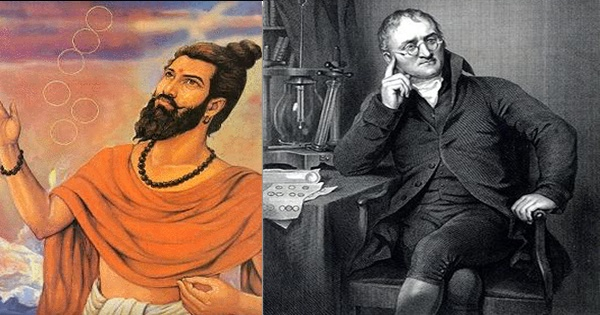 The Indian Sage who developed Atomic Theory 2,600 years ago, not Dalton of England