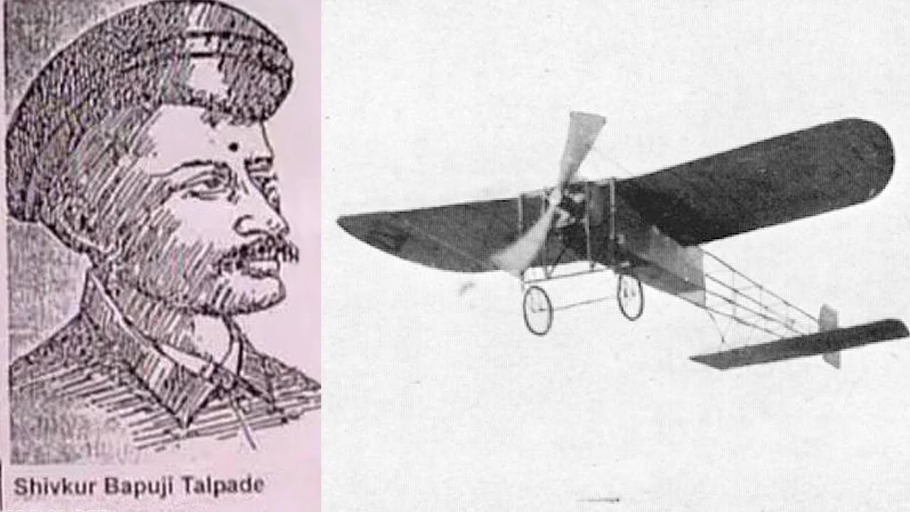 Indian flew first airplane 10 years before Wright brothers