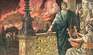 Nero Fiddled while Rome Burned