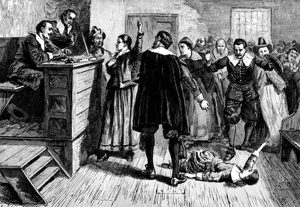 Witches were burnt in Salem