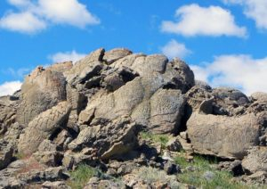 Petroglyphs Of Winnemucca Lake