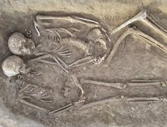 Archaeologists in England find Skeleton of two men with legs chopped off