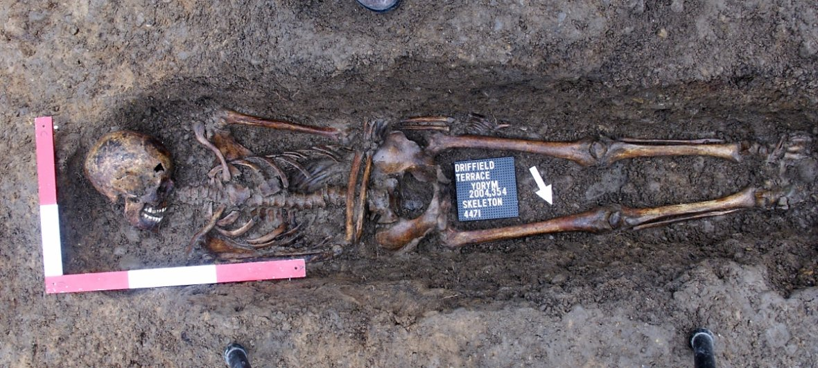 Archaeologists Found headless skeletons were excavated from a Roman burial site in England