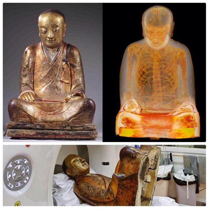 Archaeologist found HIDDEN mummy inside 1,000-year-old Buddha statue