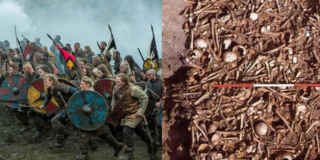 Archaeologists have discovered Mass Grave of the Viking 'Great Heathen Army' in Derbyshire England