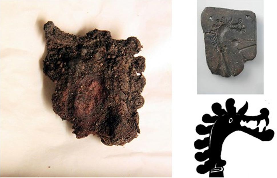 Dragon's Head – One Of The Most Famous Viking Symbols Discovered At Birka in Sweden