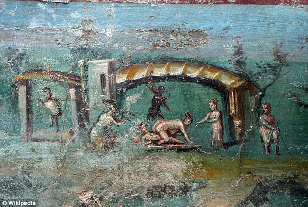 Archaeologists Discover Paintings of Ancient Egypt in a 2,000-Year-Old Villa in Pompeii