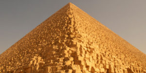 The Great Pyramid at Giza is Egypt's largest pyramid, built for the pharaoh Khufu.