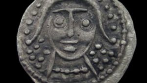 One of the most exciting Little Carlton finds was this sceat, a type of silver coin used in Anglo-Saxon England. This well-preserved find dates to between A.D. 725 and A.D. 745, the archaeologists found. A survey of all of the artifacts at the site reveals that people lived in the area from at least 680 A.D. until 850 A.D., a time that coincides with incursions by Viking invaders. There is no evidence yet that Vikings spelled the end of the settlement, however.