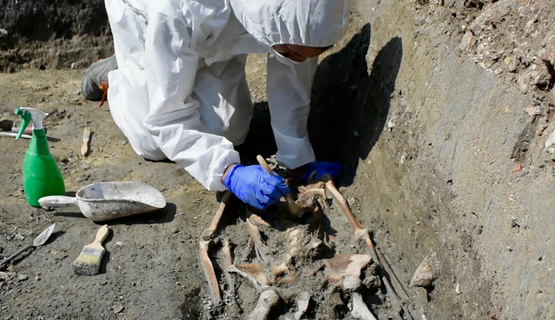 Rare 1,300-year-old skeleton found on an island near Venice