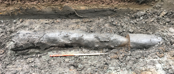 18th-Century Water Pipes Discovered in Edinburgh