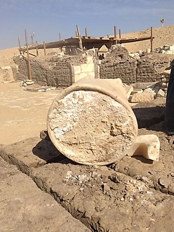In the necropolis of Saqqara, Egypt, researchers discovered a broken jar containing what appeared to be a hunk of 3,300-year-old cheese — possibly the oldest known cheese in the world.