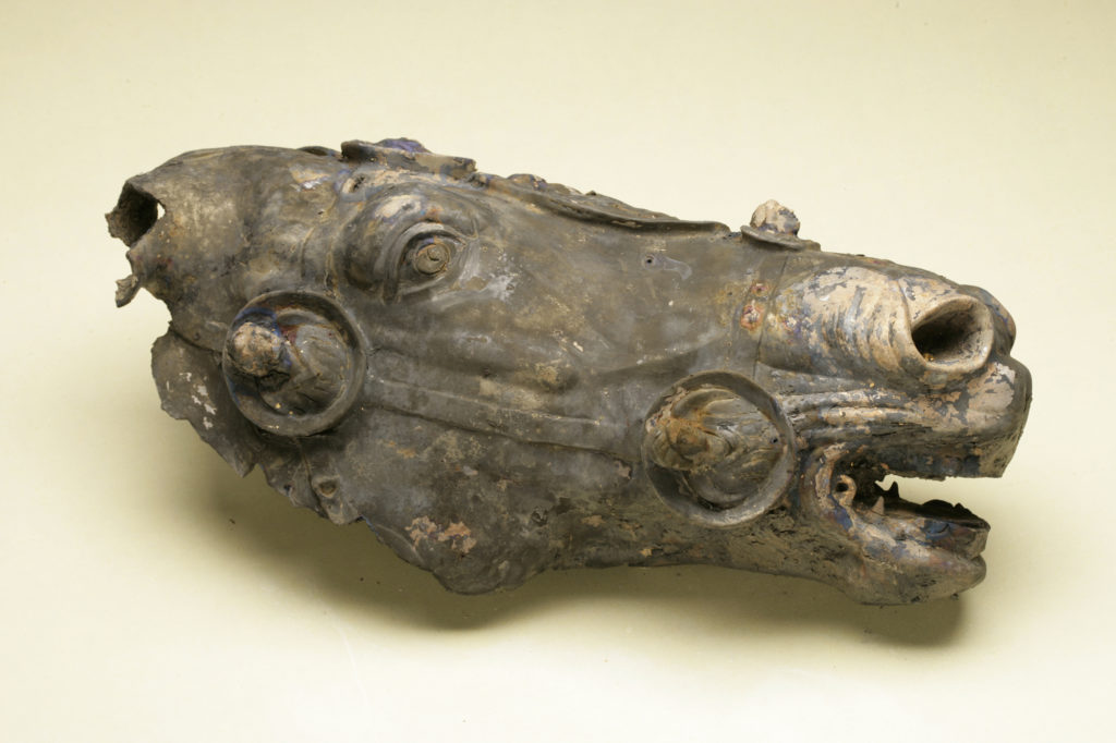 Ancient Roman Horse Head Made of Bronze Unveiled in Germany
