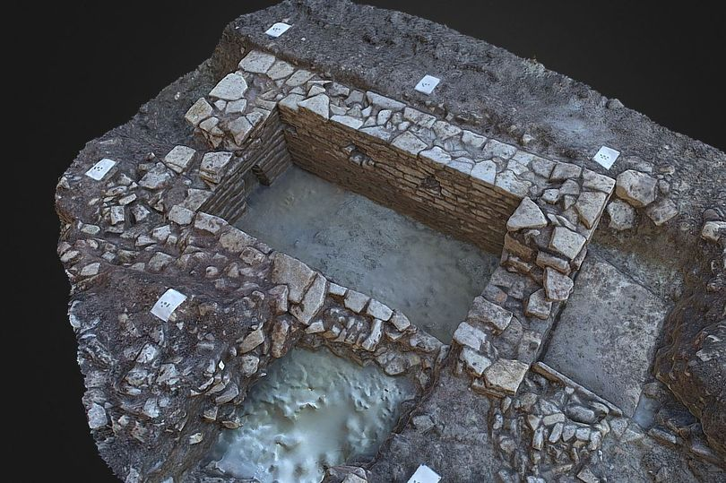 A Roman Villa was discovered during the Stoke Gifford excavation
