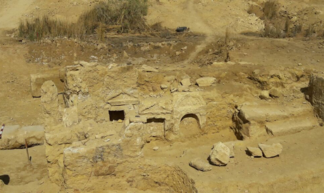 Graeco-Roman Temple Unearthed in Egypt's Western Desert