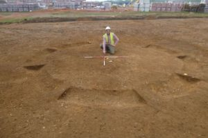 ARCHAEOLOGISTS uncovered a Middle Bronze Age cemetery when they were excavating land where two new schools will be built.