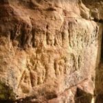 Ancient Crude Graffiti Placed by Roman Soldiers Found on Hadrian's Wall