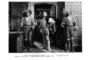 Actor Charles Laughton in a scene from the film 'The Private Life Of Henry VIII.', 1933.