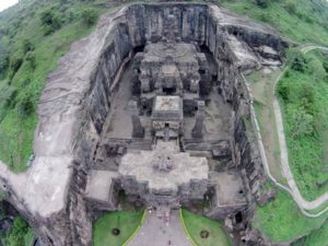 It forms part of a temple complex of 34 cave temples which were of similar construct.