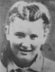 Lepa Radić in her early teens.