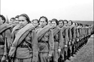Soviet women during the war