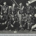 US bomber crew killed in WWII remembered by flypast