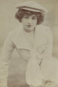 Portrait of photographer Rita Martin by her sister Lallie Charles, c. 1907