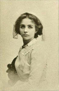 Maude Adams as Phoebe in Quality Street (1901)