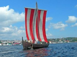 Modern replica of a Viking Knarr