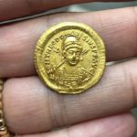Byzantine Gold Coin Discovered in Northern Israel