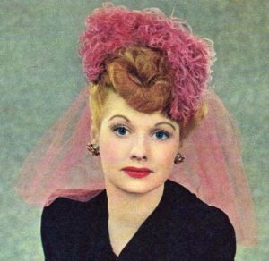 Lucille Ball from the New York Sunday News.