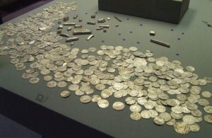 Coins and bars from the depot of Harrogate