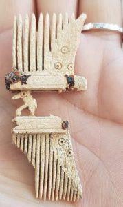 Bone comb (Late Roman or Anglo Saxon)